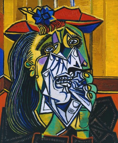 The Weeping Woman door Picasso