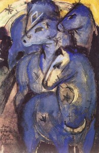 1913 Franz-Marc-blue-horses-tower