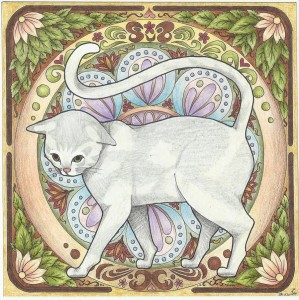 art_nouveau_cat_by_double9-d5lgsxv
